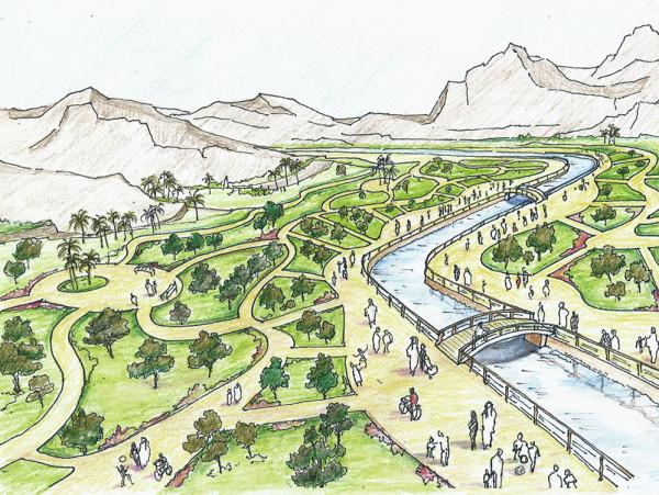 Al Fayhaa – The Pilgrim's Green trail